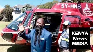 Uhuru Kenyatta ORDERS a Helicopter Chopper to Airlift Prophet David Owuor!!!
