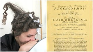 I Followed An 18th Century Hair Tutorial (Don't Try This At Home)