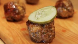 BBQ Meatballs! Simple Party Appetizer Tricks