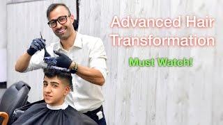 Hair Dye & Haircut Tutorial - Hair Transformation - Best Hairstyle For Men #33