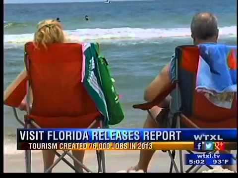 Florida tourism growing
