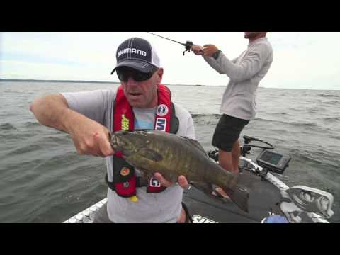 Rough Water Smallmouth w/ Elite Series Champ Brandon Palaniuk - Dave Mercer's Facts of Fishing