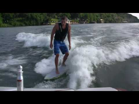 Eric Shanteau Wake Surfing Video