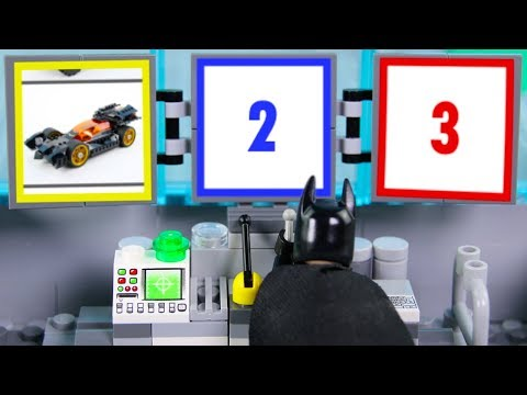 LEGO Batman Experimental Batmobile, Construction Drill STOP MOTION LEGO Cars & Trucks | Billy Bricks