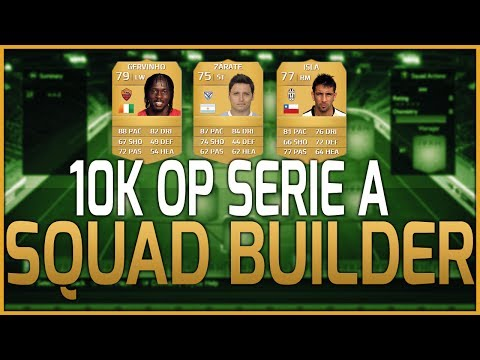 FIFA 14 Ultimate Team   10K OP Serie A Squad Builder!   Cheap & Affordable!