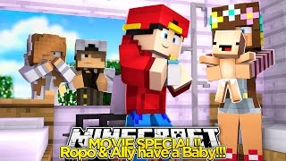 Minecraft Movie Special - ROPO & ALLY HAVE A BABY!!!