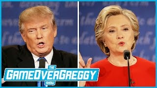 The Presidential Debate Update! - The GameOverGreggy Show Ep. 151 (Pt. 1)