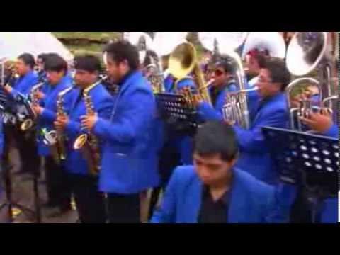 LLEGADA DE BANDAS 18 DE ENERO 2014 HUANCAVELICA PARTE 03