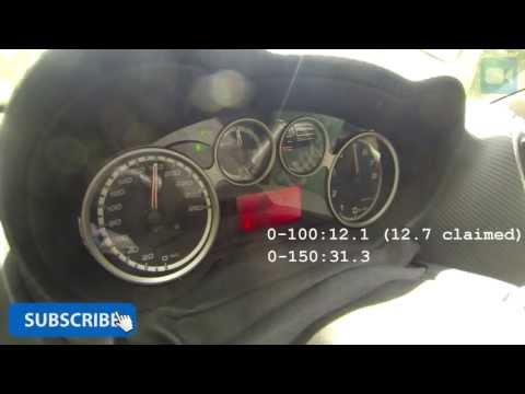 Alfa Romeo MiTo TwinAir 0-182 km/h NICE! Acceleration & Top Speed Run