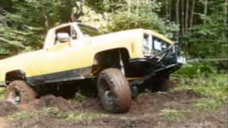 big block Chevy Off road truck