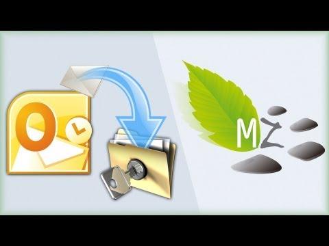 Copia de seguridad del correo electrónico Outlook 2010 (Backup)