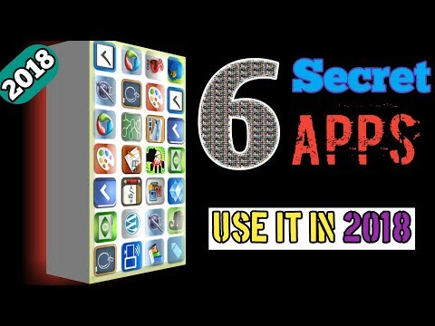 Top 6 New 2018 Secret Android Apps | Cool And Amazing Apps | By Hamesha Seekho.
