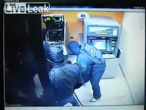 Robbers Crack an ATM in less than a Minute