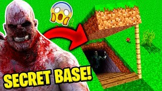 J 39 Ai TrouvÉ La Base Secrete De Outlast Chris Walker Sur Minecraft