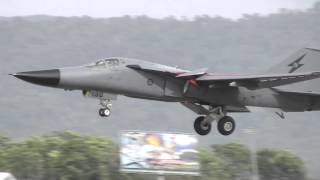 Blast from the Past - F111 Dump & Burn at LIMA 2009