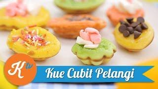 Resep Kue Cubit Pelangi