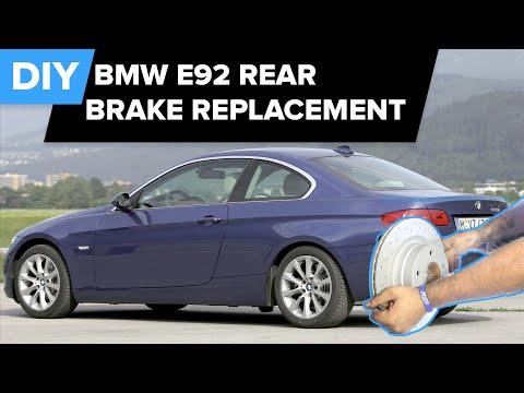 BMW Brake Replacement (E92 Rear Sensor, Pads & Rotors) FCP Euro