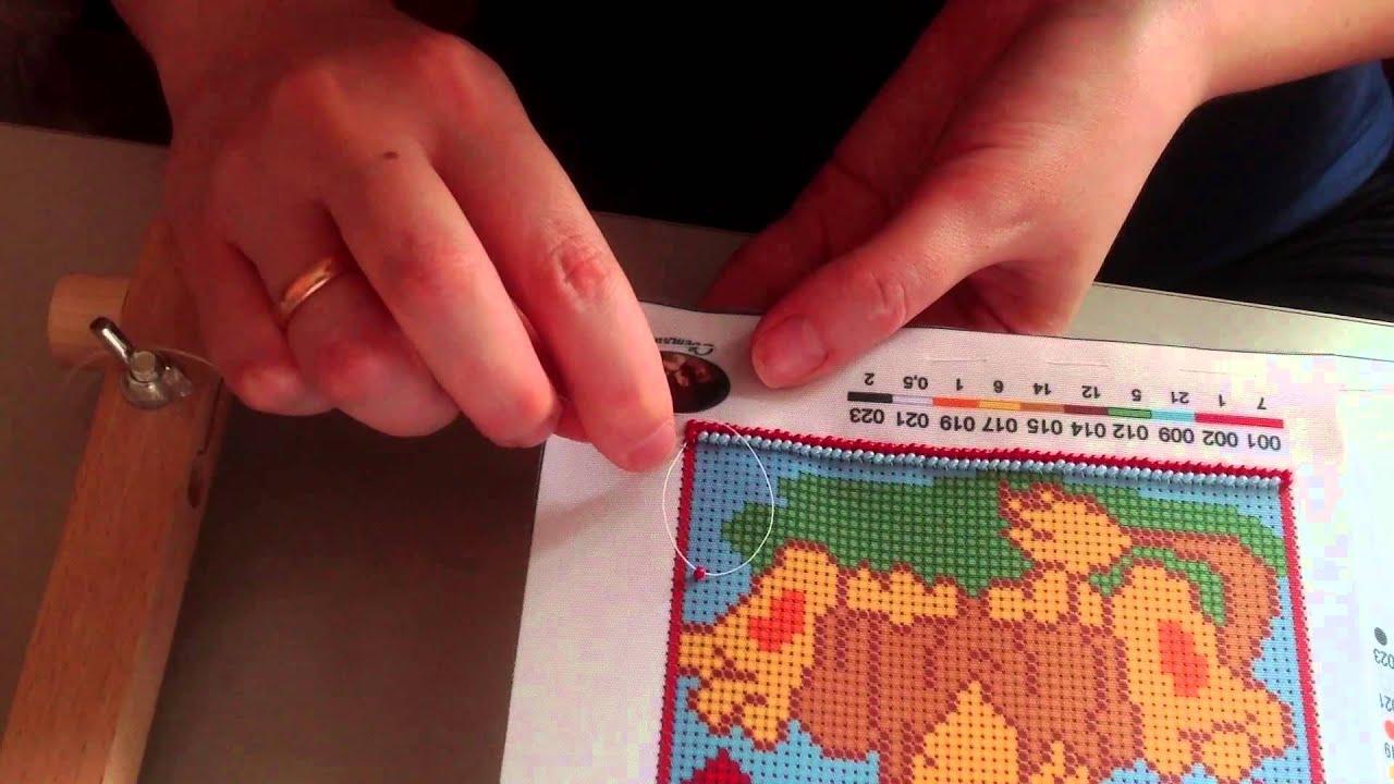 Вышивку бисером как правильно вышивать