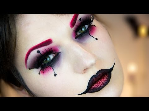 Harley Quinn Halloween Makeup Tutorial