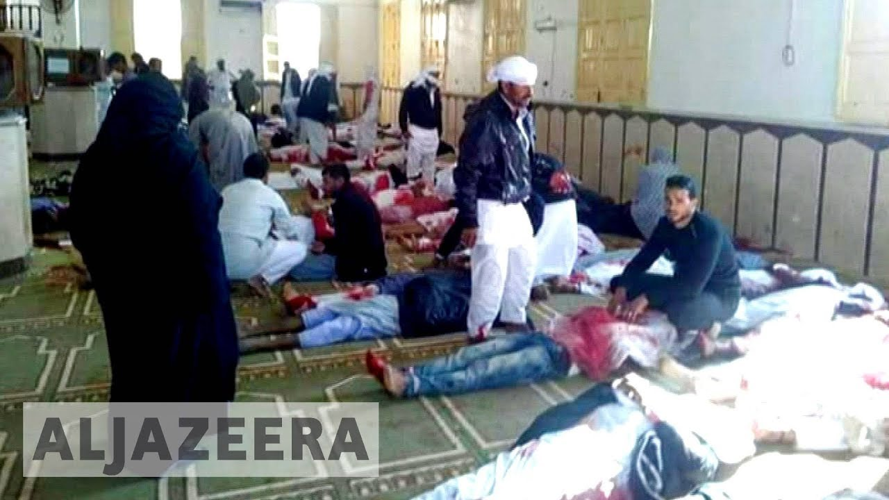 At least 235 killed in Sinai mosque massacre