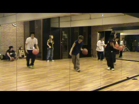 "K-otic ""Freestyle"" dance rehersal with J.da"