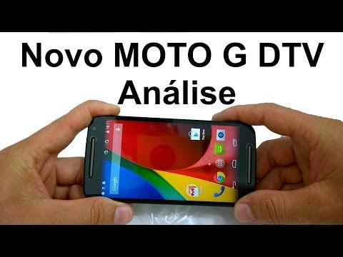 Novo MOTO G DTV 2ª Geração Análise (Review BRASIL)