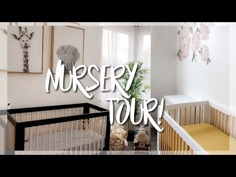 OUR NURSERY REVEAL & TOUR || NEUTRAL THEME FOR BOY & GIRL