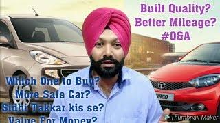 Hyundai Santro Vs Tata Tiago Which one is Better