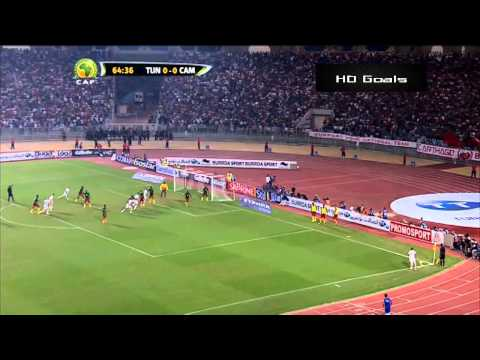 Tunisie VS Cameroon Highlights (Arabic Commentary) 13/10/2013