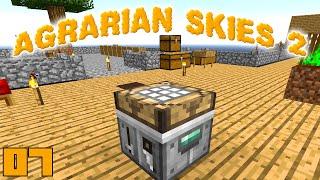 Minecraft Mods Agrarian Skies 2 - WORKSHOP !!! [E07] (Modded Skyblock)