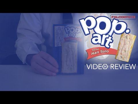 Falcontoys' Pop-Art: Frosted Han Solo Reviewed