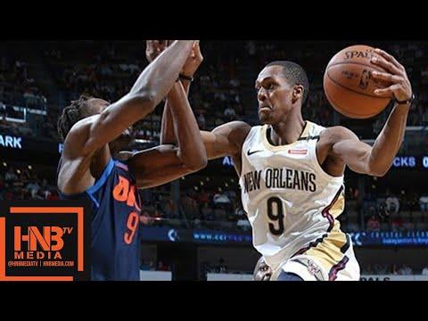 Oklahoma City Thunder vs New Orleans Pelicans Full Game Highlights / April 1 / 2017-18 NBA Season
