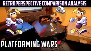 Rayman: Retro comparison of a tough cookie | Jaguar-Saturn-PS1-MSDOS-SNES