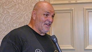 'I told TYSON FURY to open the door like MOSES,' says Big John Fury