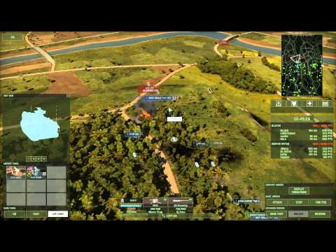 Wargame Red Dragon 4v4 on Jungle LAW using U.S. Marine Deck