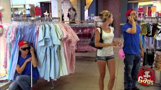 Valentine's Day Sexy Lingerie Shopping Prank