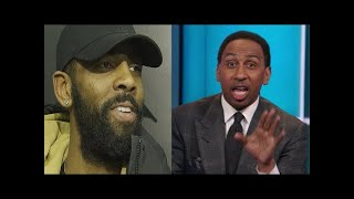 Stephen A. Smith reacts to Kyrie Irving possibly joining Lakers