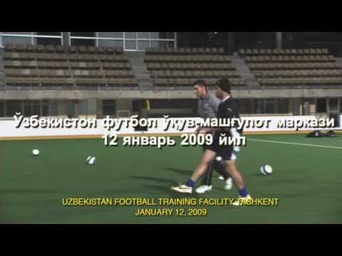 EXTREME TRAINING FOR UZBEKISTAN FOOTBALL VICTORY