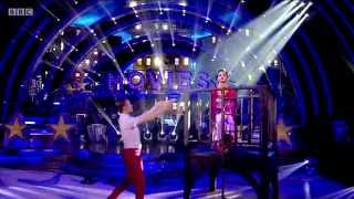 Frankie Bridge & Kevin Clifton - Strictly Come Dancing - 11th october 2014