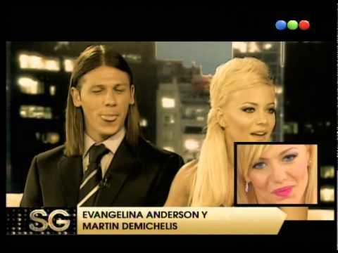 Cómo se conocieron Demichelis y Evangelina Anderson - Susana Gimenez 2008