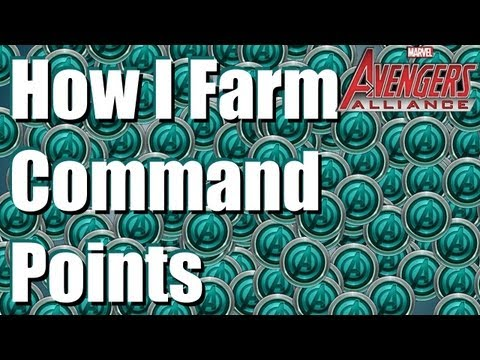 Marvel: Avengers Alliance - How I farm command points