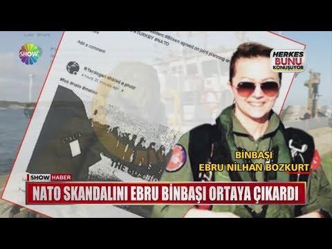 NATO skandalını Ebru Binbaşı ortaya çıkardı