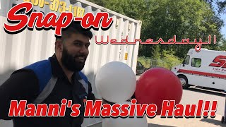 Snap-on Wednesday!! Manni's Massive Green Snap-on Haul!