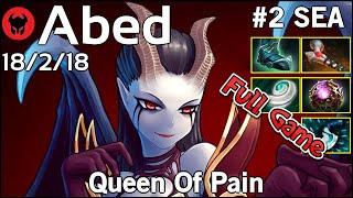 Abed [Fnatic] plays Queen Of Pain!!! Dota 2 Full Game 7.21