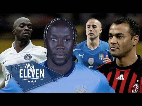 Bacary Sagna picks his greatest ever team | Ronaldo, Zidane, Cannavaro & more!