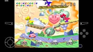 Mupen64 Plus AE Emulator 2.4.4 for Android | Super Smash Bros. [720p HD] | Nintendo 64