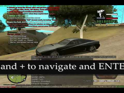 Gta SA:MP Latest Mod s0beit Tutorial + Download link