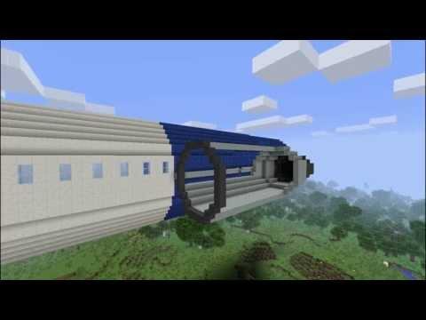 Minecraft Timelapse TU 154