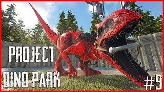 [🔴LIVE] Bangun Dino Park Yuk - Ark Survival Evolved Indonesia Episode 9