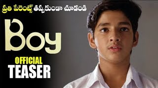Boy Telugu Movie Official release Teaser | latest Telugu Movie Trailers |Filmylooks